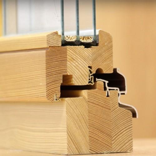 Преимущества и недостатки деревянных окон из сосны